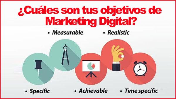 Cómo crear objetivos digitales relevantes